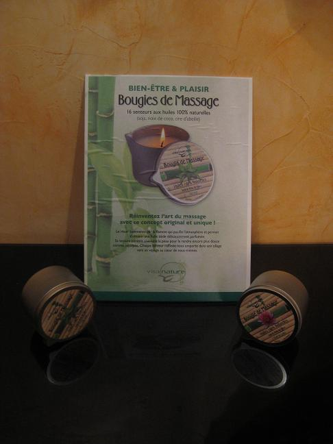 Bougies de massage Vita nature